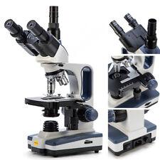 Swift Sw350t 40x 2500x Trinocular Lab Compound Microscope With 3d Mechanical Stage