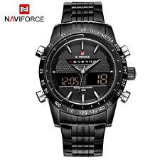 NAVIFORCE 9024-BLACK fashion sports quartz men Genuine wrist watch