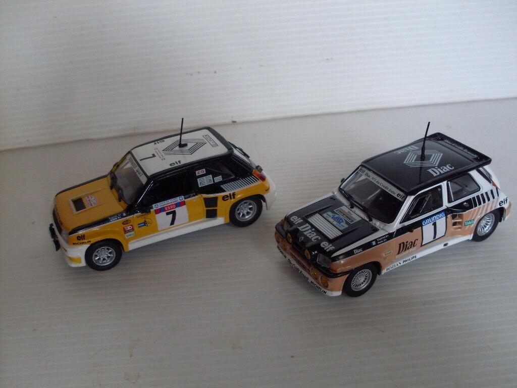2 Renault 5 Turbo  et Maxi
