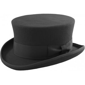 Detalles de Nuevo Para Hombre Para Mujer Damas Negras Doma Caballo Ecuestre  Top Hat 100% Lana En Caja- ver título original 5feaf116c4b