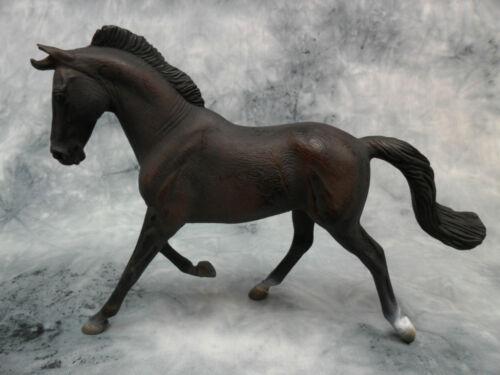 #88478 Model Horse Toy Figurine Black Thoroughbred Mare CollectA NIP