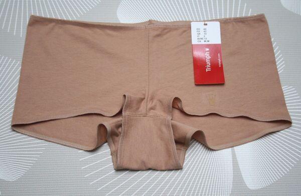 Triumph Short Hipster Slip slipi skin cotton Caramello Gr. 46 NEU