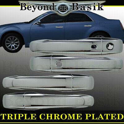 For 2011-2018 Dodge Journey Chrome Door Handle COVERS+Gas Door