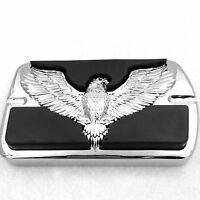 Httmt- Eagle Chrome Brake Pedal Large Pad For Harley Touring Softail Fat Boy