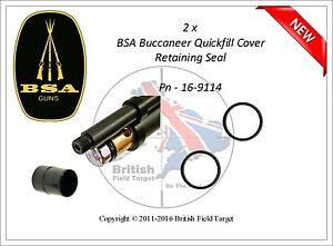 2 X Premium Quick Fill Cap Conservant O Ring Seals Fits Bsa Buccaneer Nouveau-afficher Le Titre D'origine