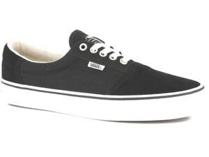 67b4e8fe52 VANS Rowley (Solos) Black White Skate Shoes MEN S 7 WOMEN S 8.5