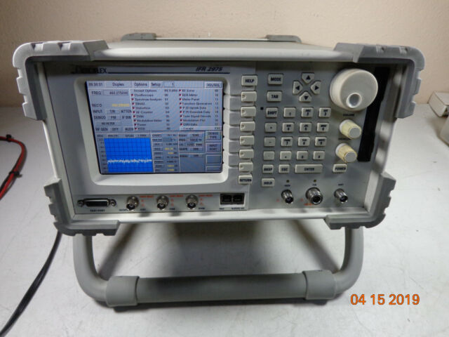 Aeroflex IFR 2975 Wireless Radio Test Set Tons Opts P25 Remote