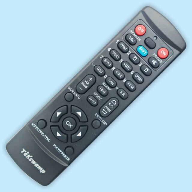 ORIGINAL EPSON  PROJECTOR REMOTE CONTROL //POWERLITE  8300i /& 9300i