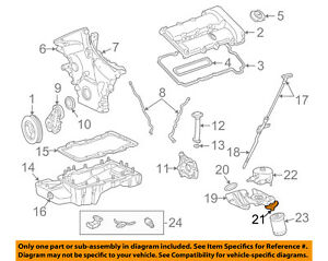 Details about Lincoln FORD OEM 00-05 LS 3.0L-V6 Engine-Adapter Insert on