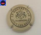 Capsule de Champagne DAUTREVILLE J.F Crème et Noir n°1 !!!!!