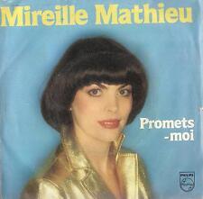 DISCO 45 Giri Mireille Mathieu - Promets-Moi / C'est Peut-Être Moi Qui Partirai