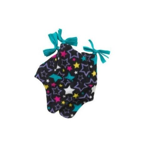 Healthtex Baby Toddler Girl Fleece Peruvian Hat Black Stars One Size BABY SHOWER