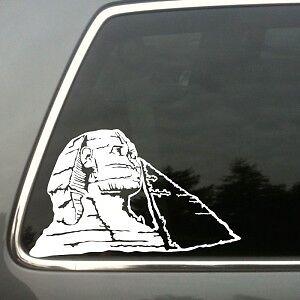 ancient egyptian technology sphinx car vinyl decal