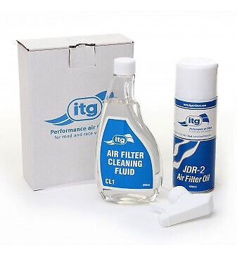 ITG Air Filter Cleaner Kit CLK-2 Heavy Duty JDR-2 Stockcar Autograss Rally F1 F2