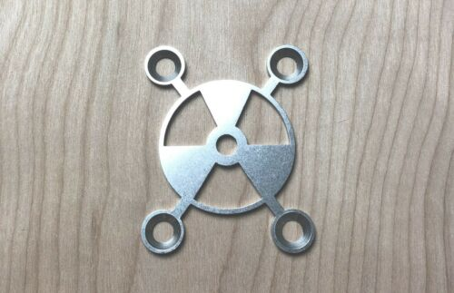 Stainless Steel Xtreme Nuke Neck Plate for your Guitar or Bass