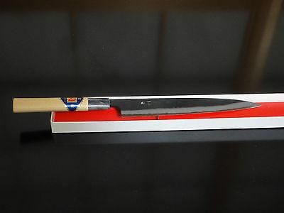 Japanisches Profi Kochmesser Sujihiki (Klinge:210mm)weiß Stahl-1(Shirogami-1)