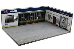 Diorama-SAAB-Ottersten-Bilservice-1-43eme-43-3-D-H-R-002