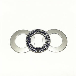 2 pcs AXK4565 Thrust Needle Bearing 45x 65x 3 mm with 4 Washers