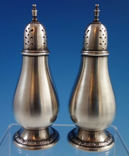 Prelude by International Sterling Silver Salt & Pepper Shakers 2pc #S118 (#1623)