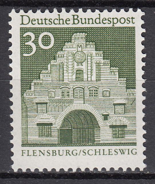 BRD 1966 Mi. Nr. 492 Postfrisch Sichtbarer Druckversatz LUXUS!!! (14454)