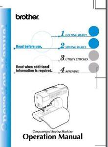 brother cs 80 operations manual pdf on cd free shipping ebay rh ebay com Yamaha CS 8 0 Manual Arturia CS 8.0