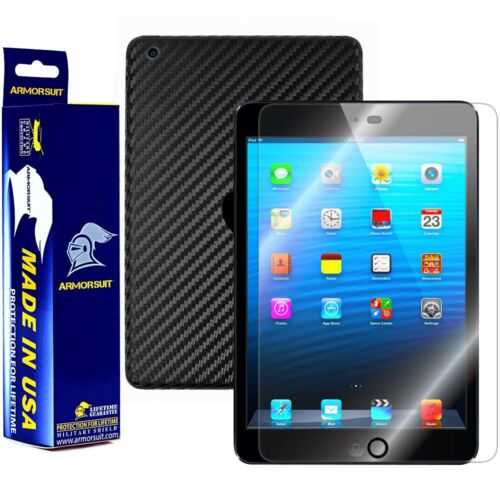 ArmorSuit MilitaryShield Apple iPad Mini Screen Protector Black Carbon Fiber