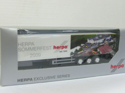 HERPA Anhänger Sommerfest 2009 LKW OVP 1:87 UU2003