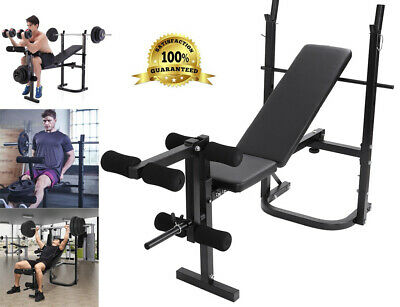 weight bench barbell lifting press gym equipment exercise