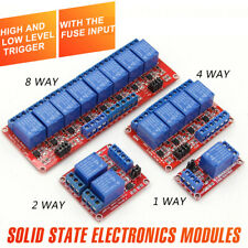 8 Channel 5v Relay Shield Module Board For Arduino Raspberry Pi Arm Relay Module