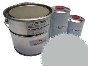 1,5 Liter Set 2K Floor Coating Ral 7038 Agate Gray Shine Floor Color Workshop