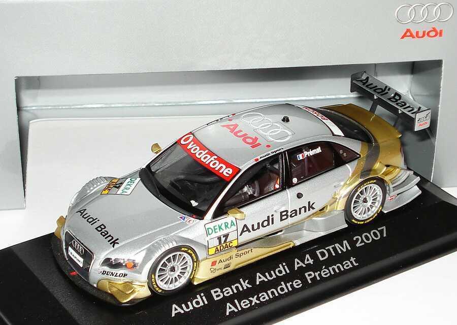 1 43 Audi A4 A4 A4 DTM 2007 Phoenix Racing Audi Bank 17 Alexandre Prémat - Dealer-Ed. 65a140