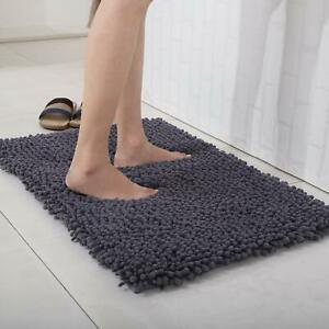 Luxurious Absorbent Soft Memory Foam Bath Mat Bathroom Shower Rug Non Slip