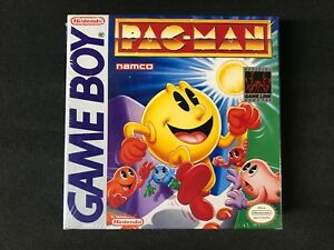 Pac-Man-Nintendo-Game-Boy-1991-Brand-New-Factory-Sealed