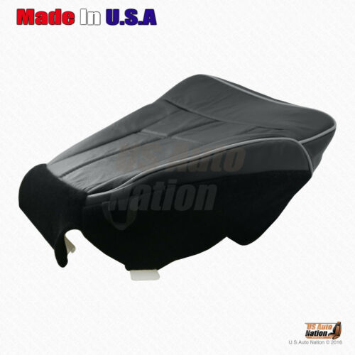 """2006 2007 2008 Lincoln Mark LT 4X4 Bottom /""""Black/"""" Leather Seat Cover For Driver"""