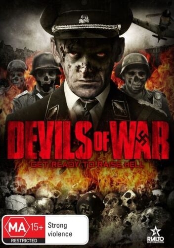 """1 of 1 - Devils Of War (DVD, 2014**R4**VGC**""""Get Ready To Raise Hell"""""""