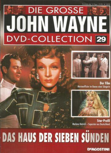 1 von 1 - Das Haus der sieben Sünden / John Wayne DeAgostini Collection 29 / DVD