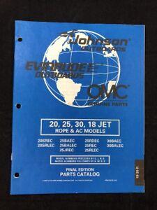 30 REMOTE OUTBOARD MOTOR PART MANUAL 1998 OMC /JOHNSON EVINRUDE 20 ...