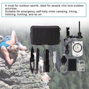 SOS Emergency Survival Equipment Kit Outdoor Gear Tool Tactical Camping