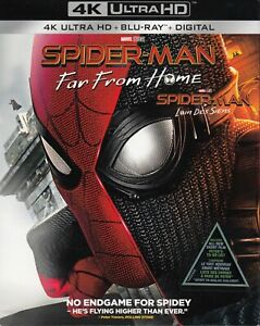 SPIDERMAN-FAR-FROM-HOME-4K-ULTRA-HD-BLURAY-2-DISC-SET-USED