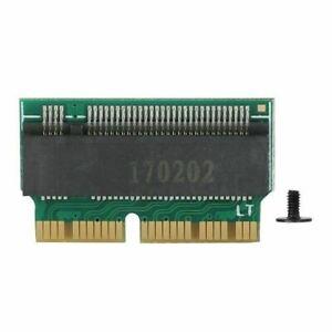 M.2 NGFF PCI-E X4 a 2013 2014 2015 Macbook Pro A1398 A1502 SSD tarjeta de adaptador nuevo