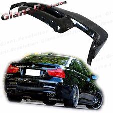 Carbon Fiber 3D Style Rear Diffuser BMW 06-11 E90 325i 335i Sedan M-Tech Bumper