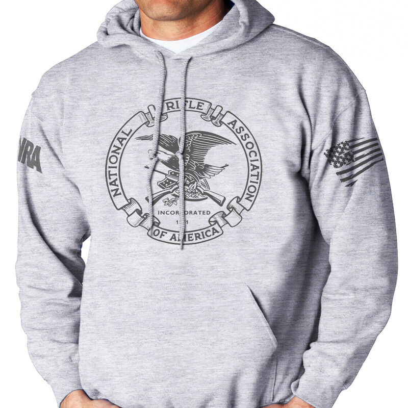 NRA,National Rifle Ass,2nd Amendment,HOODIE  SWEATSHIRT,size S-5X,T-1258AshHOOD