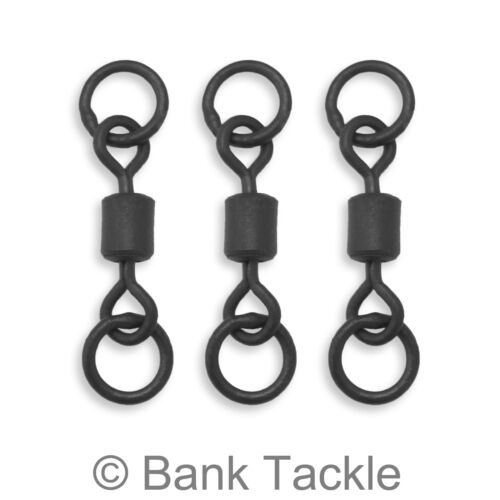 Chod Swivels Double Ring Size 8 Carp Fishing Terminal Tackle Helicopter Rigs SDL