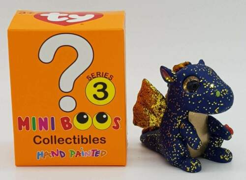 ty Mini Boos Collectibles Serie 3 Blauer Drache Mystery Chaser