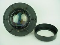 "Kodak Aero-Ektar 13-1/2"" Inch F/3.5 (343mm) 9x9 Huge Aerial Camera Lens-Rare!"