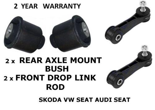 AUDI A3 1997-2004 Avant Drop Lien barres /& suspension arrière essieu mount buissons