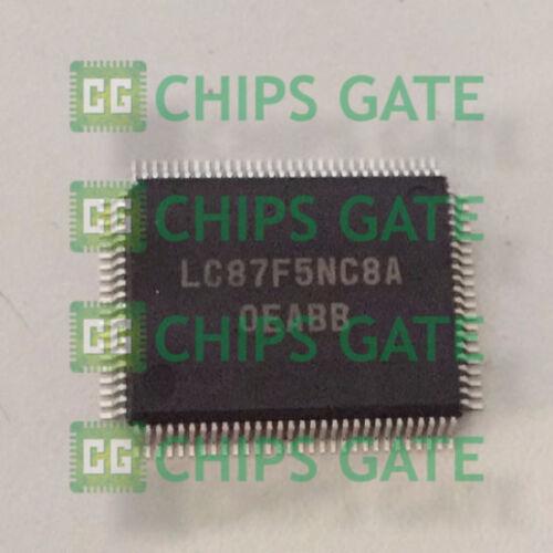 RAM 4096 byte 2PCS LC87F5NC8A Encapsulation:QFP,CMOS IC FROM 128K byte