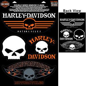 "div DW 1199669 * Sticker Harley-Davidson Autocollant /""Skull collection/"" clingsheet"