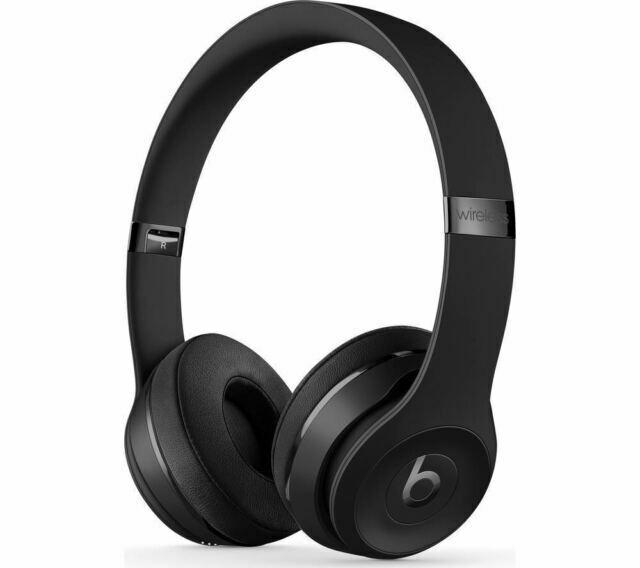 Beats By Dr Dre Solo3 On Ear Wireless Headphones Satin Silver For Sale Online Ebay