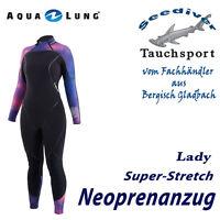 Gr UWFUN24: Aqualung Neoprenanzug Aquaflex 5mm Women Schwarz 36